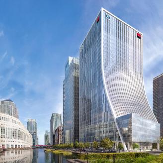 EBRD Headquarters move to Canary Wharf