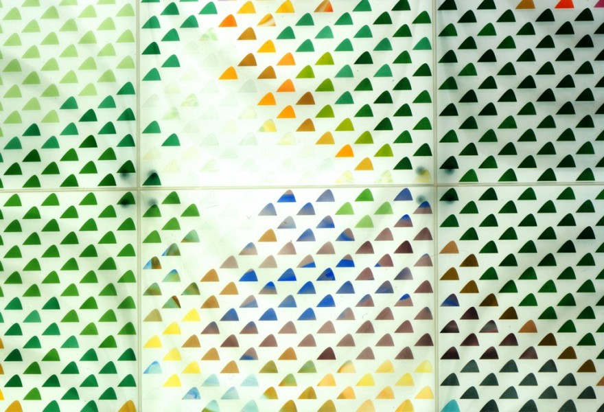 Alexander Beleschenko: Art Glass Wall