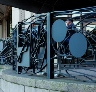 Bruce McLean: Sculptural Railings