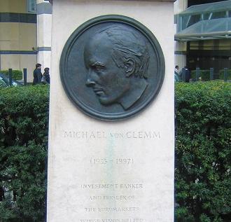 Gerard Laing: Relief Portrait of Michael von Clemm