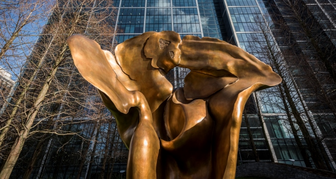 Looking Up: Helaine Blumenfeld OBE at Canary Wharf
