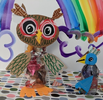 Make a Funky Bird Puppet