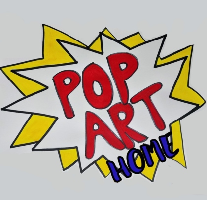 Pop Art Home with Paint Jam London