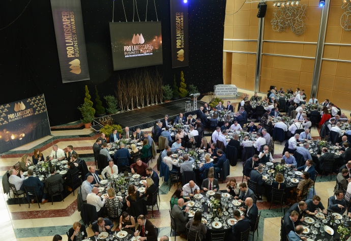 Pro Landscaper Business Awards 2020 at East Wintergarden