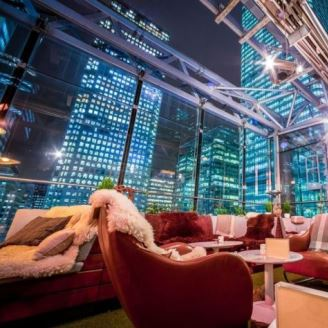 Canary Wharf's Best Outdoor Drinking & Dining Destinations