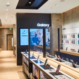 Discover Samsung's New Experience Store at Canary Wharf