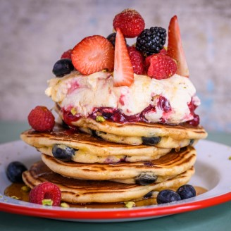 Stacks of Fun: Pancake Day in Canary Wharf