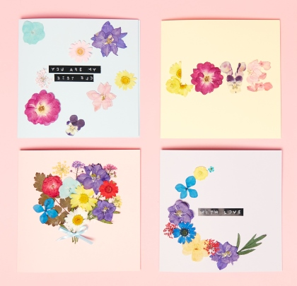 Card Making Workshop: Pressed Flowers