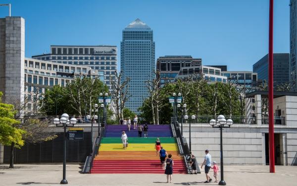 Celebrate Pride at Canary Wharf