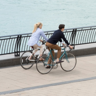 Active Transport in Canary Wharf