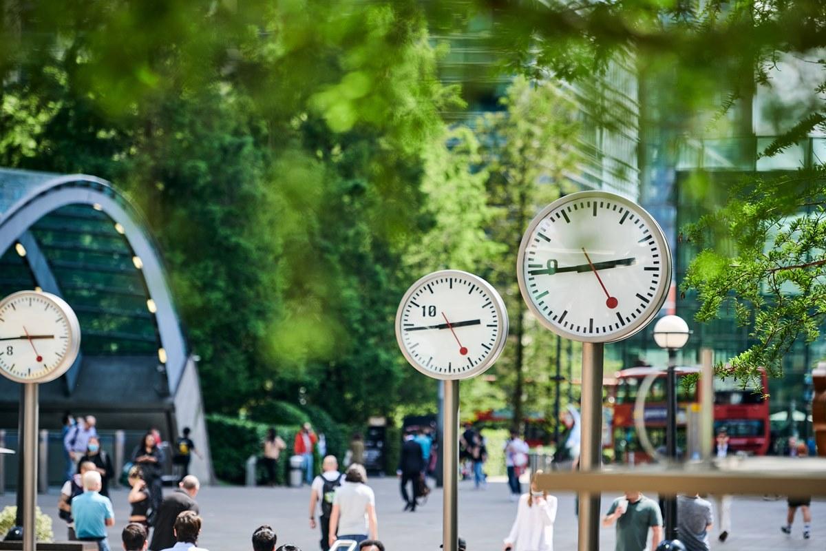 Konstantin Grcic: Six Public Clocks